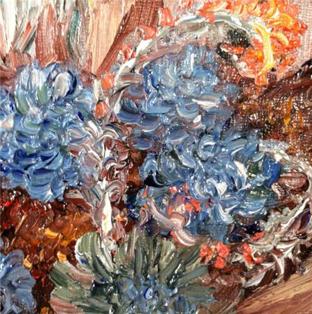 多肉植物水彩画系列之4