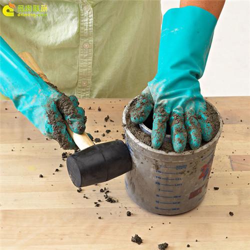 水泥花盆制作教程6