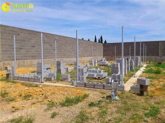 国外大棚/温室建设流程-2