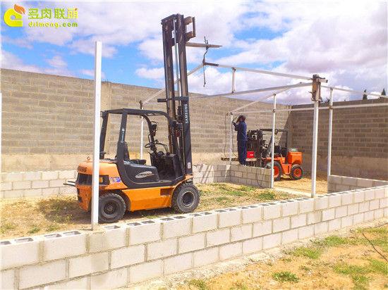 国外大棚/温室建设流程-4