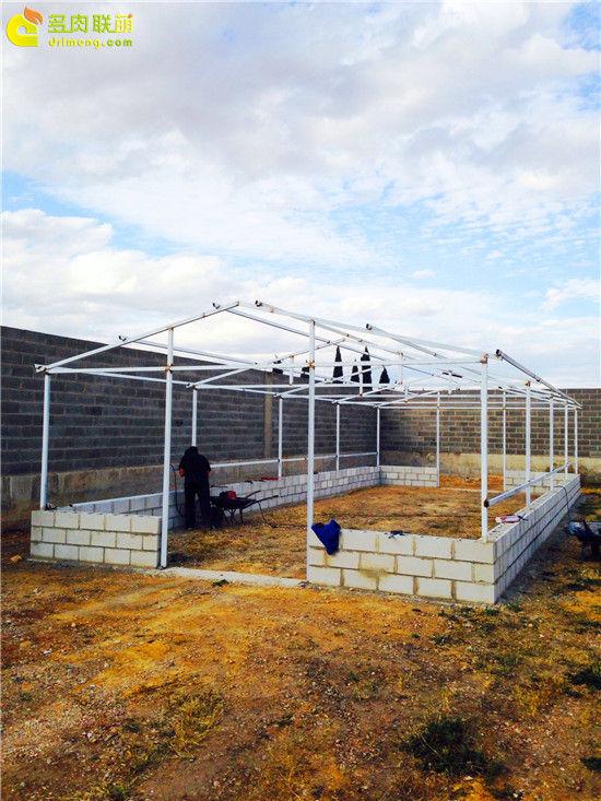 国外大棚/温室建设流程-6
