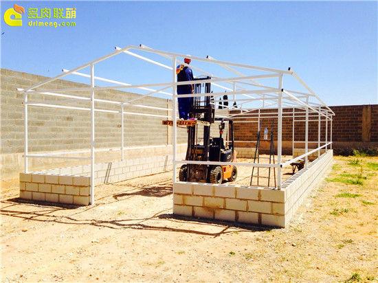 国外大棚/温室建设流程-8