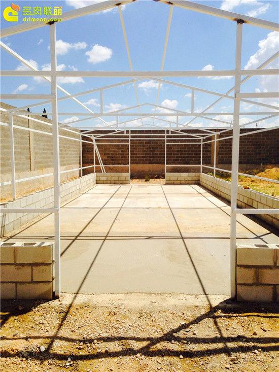 国外大棚/温室建设流程-9