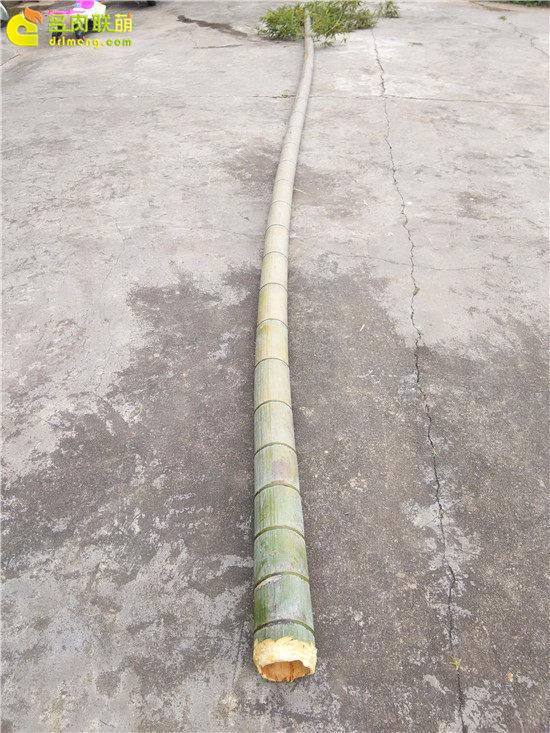 手工雕刻竹筒花盆制作教程-2
