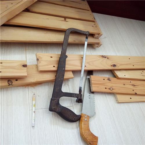 利用木板自制多肉花架-4