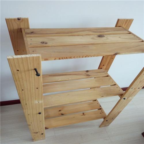 利用木板自制多肉花架-7