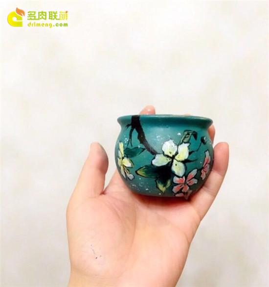 手绘花盆-32