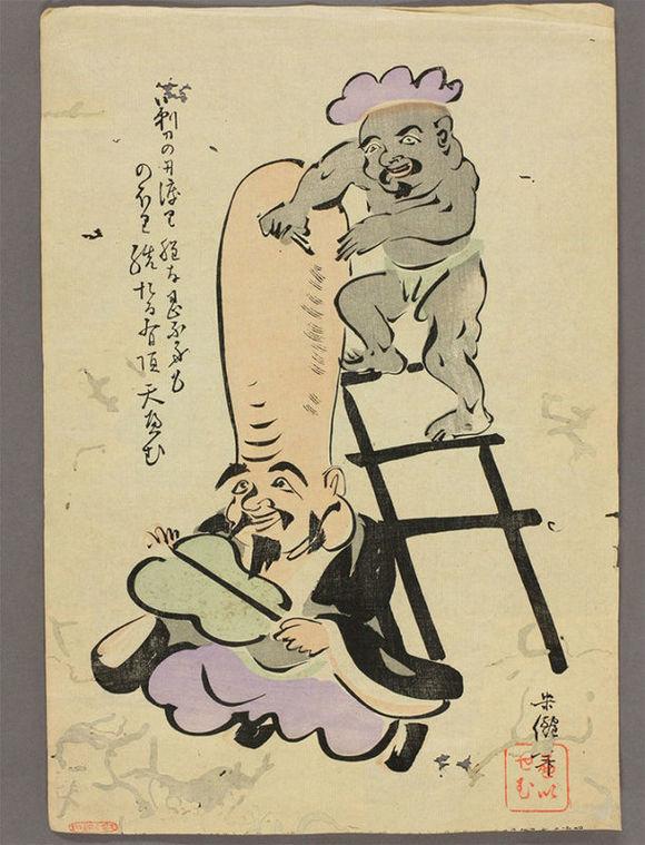 江户时期的大津绘画派