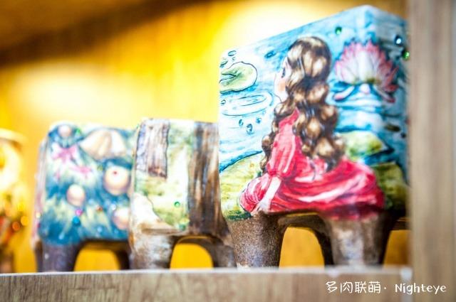 2018上海多肉展会里的花盆