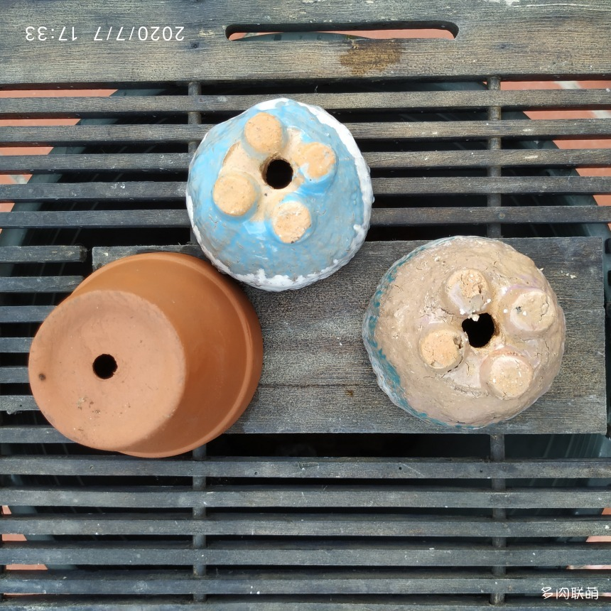 麦饭石花盆