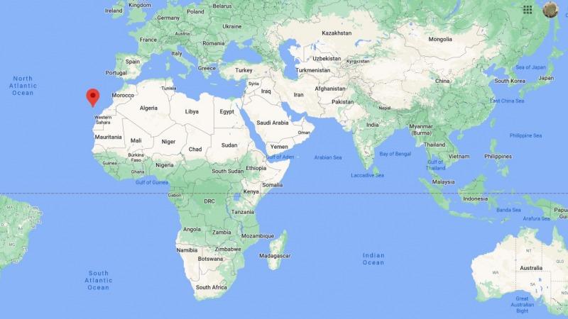 加那利群岛位置