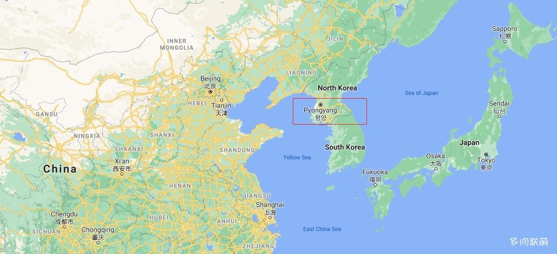 福冈的地理位置
