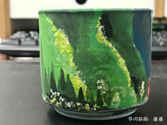 重新手绘的花盆
